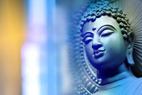 Sculpture de Bouddha
